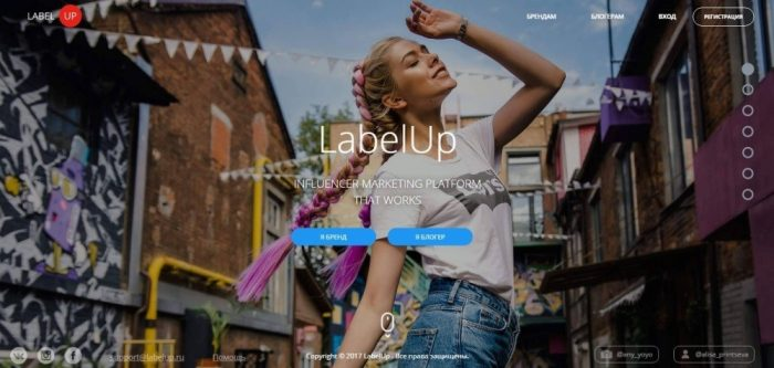 Instagram биржа LabelUP